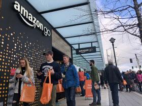 日本経済新聞WEB版 『アマゾン・ゴー』 オープン in 米シアトル