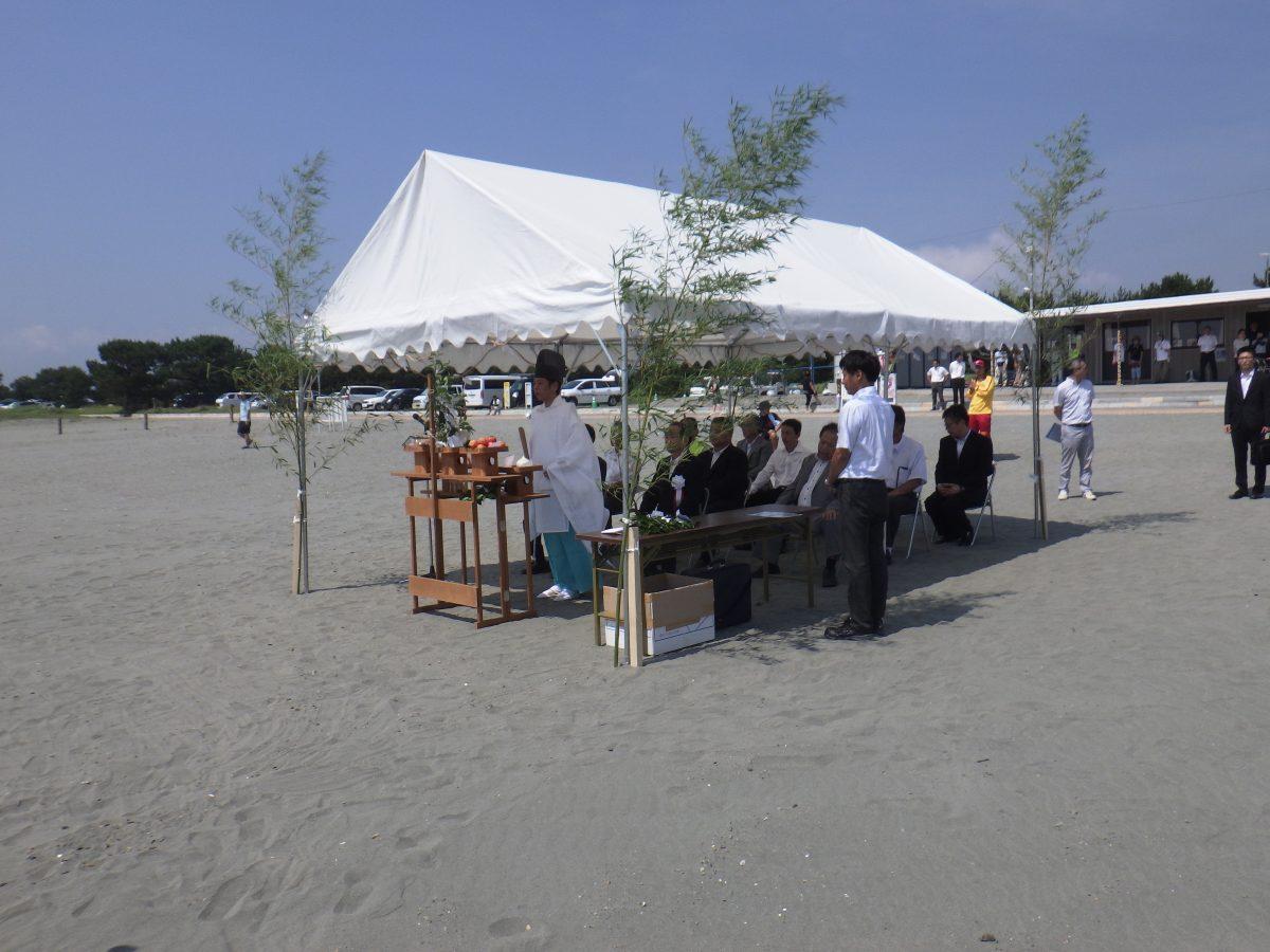 レンタル商品 活躍中 in 小松海水浴場