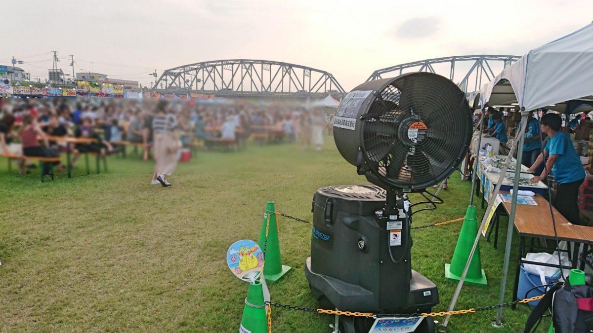 熱中症対策 ~吉野川フェスティバル~